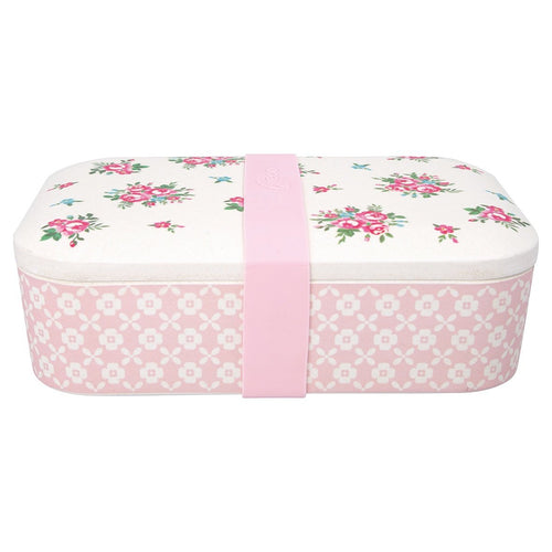 Greengate Constance white bamboo lunch box - Daisy Park