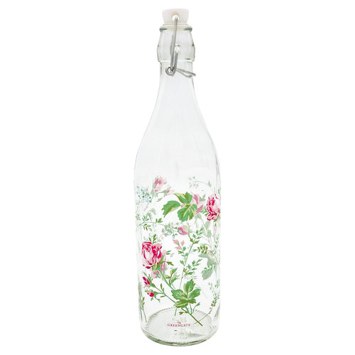 Greengate Constance white glass bottle - Daisy Park