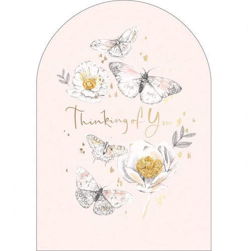 Butterflies Thinking of you card - Daisy Park