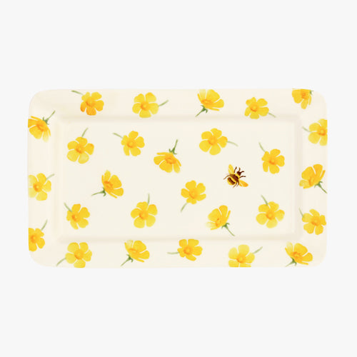 Emma Bridgewater Scattered Buttercup oblong plate - Daisy Park