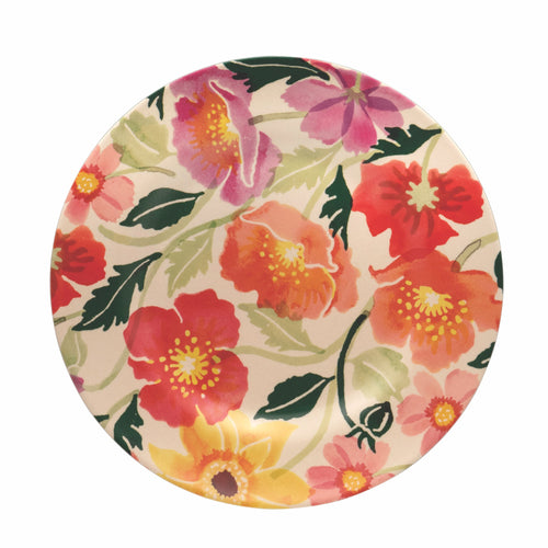 Emma Bridgewater Poppies and cosmos bamboo plate - Daisy Park