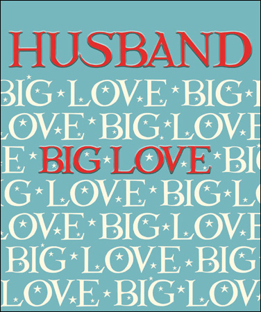 Valentine's card - Emma Bridgewater Big Love Husband - Daisy Park