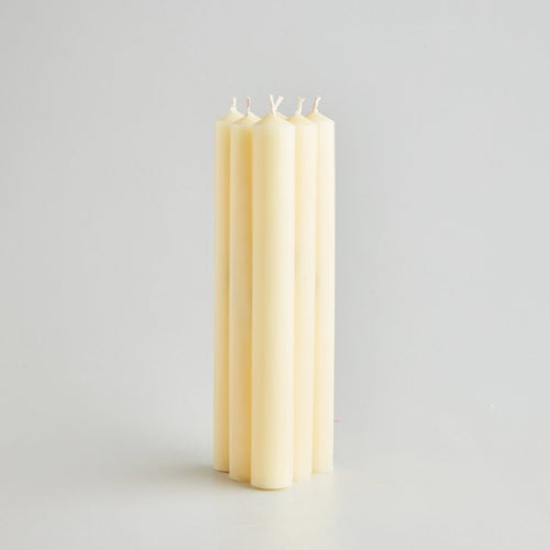 "St Eval 8"" Ivory dinner candles gift pack - Daisy Park"