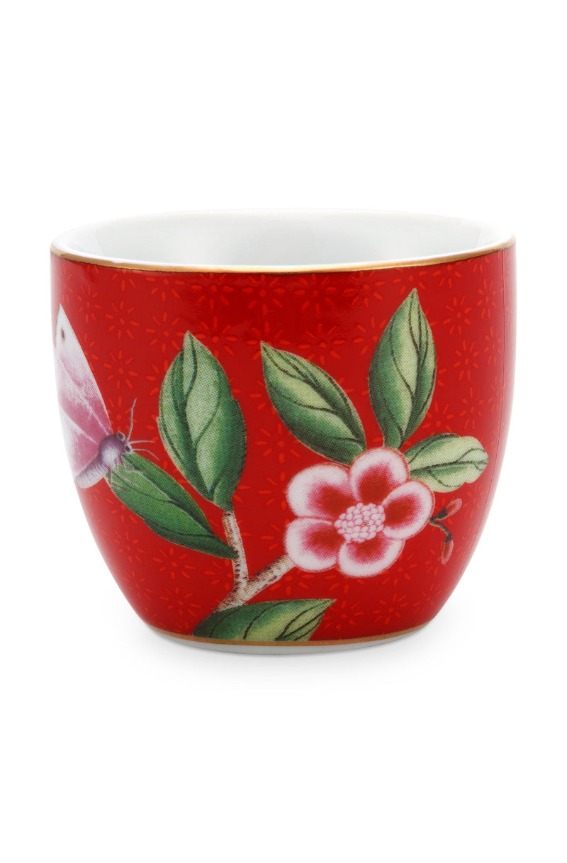 Pip Studio Blushing Birds red egg cup - Daisy Park