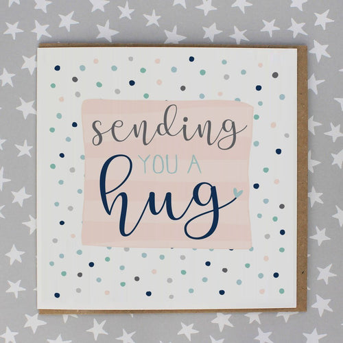 Sending you a hug card - Daisy Park