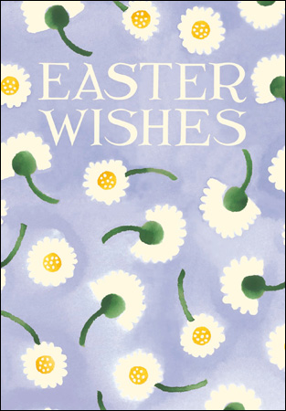Emma Bridgewater Easter Wishes - Daisies Card - Daisy Park