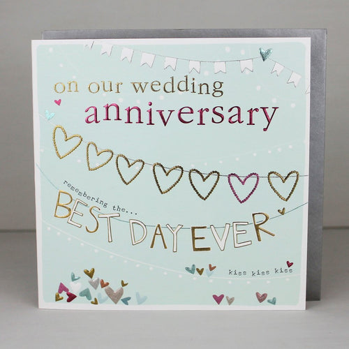 Our anniversary - Best day ever card - Daisy Park