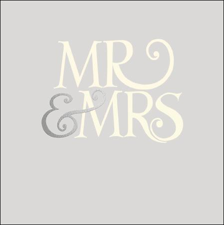 Emma Bridgewater Mr & Mrs card - Daisy Park