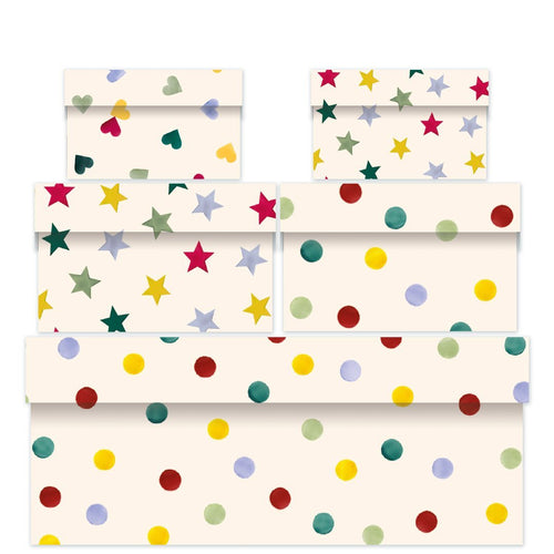 Emma Bridgewater Polka dot nest of five boxes - Daisy Park