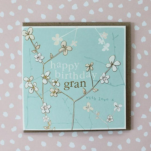 Happy Birthday Gran card - Daisy Park