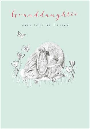Granddaughter Easter Card - Daisy Park