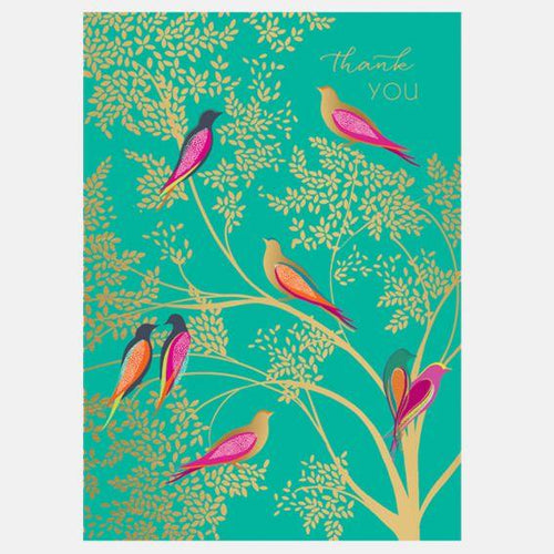 Thank you birds card - Daisy Park