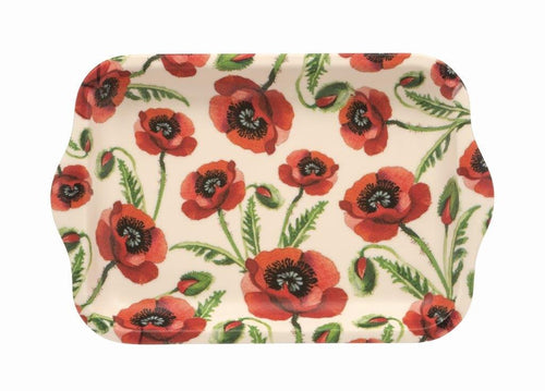 Emma Bridgewater Poppies small melamine tray