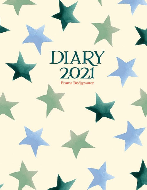 Emma Bridgewater Winter star diary 2021 - Daisy Park
