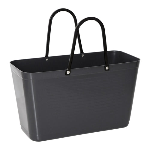 Hinza bag - large standard plastic - Dark Grey - Daisy Park