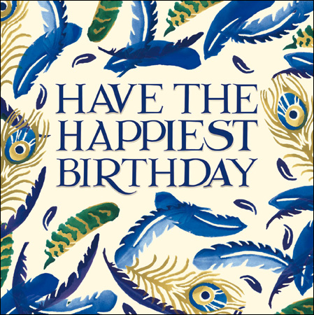 Emma Bridgewater Have the happiest birthday card - Daisy Park