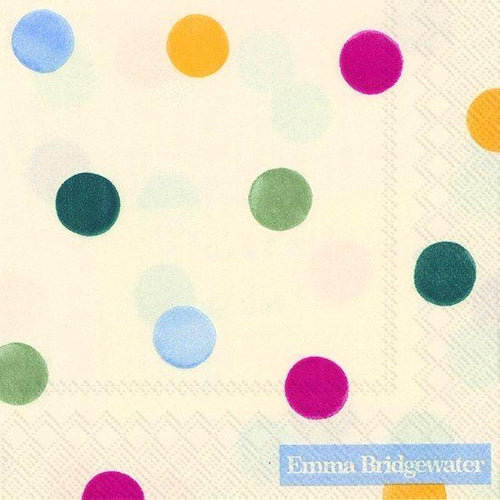 Emma Bridgewater Polka dot cocktail napkins