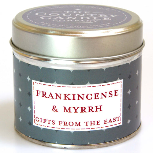 Country Candle Noel Frankincense and Myrrh tin candle - Daisy Park
