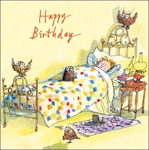 Good morning birthday card - Daisy Park