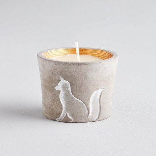 St Eval Winter Woodland candle - Fox - Daisy Park