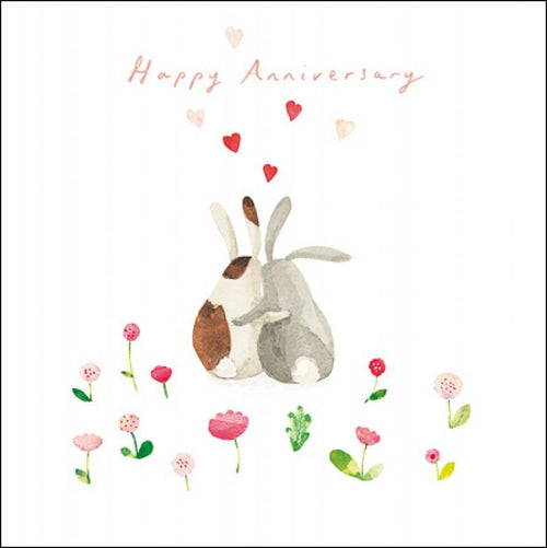 Happy Anniversary bunnies card - Daisy Park