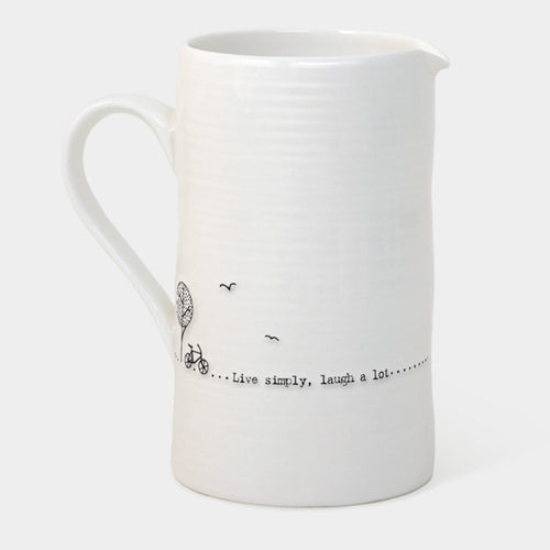 East of India Large live simply jug - Daisy Park