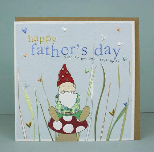 Happy Father's day gnome card - Daisy Park