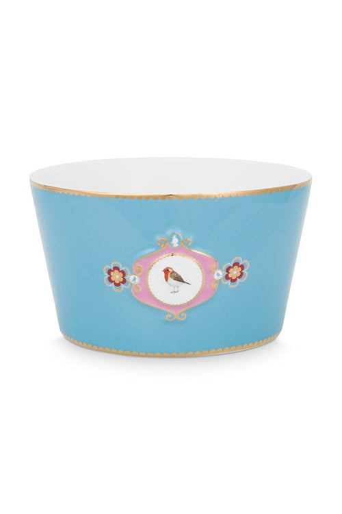 Pip Studio Love Birds Medallion Blue Bowl 20cm