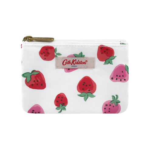 Cath Kidston Sweet Strawberry double pocket purse - Daisy Park