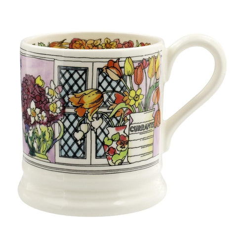 Emma Bridgewater Flowers and Vases 1/2pt mug - Daisy Park
