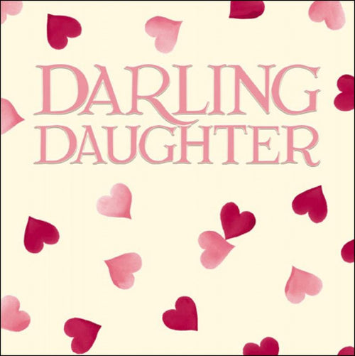 Emma Bridgewater Darling Daughter card - Daisy Park
