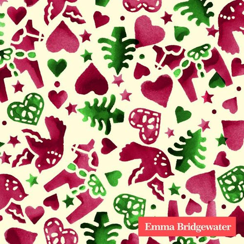 Emma Bridgewater Christmas Joy cocktail napkins - Daisy Park
