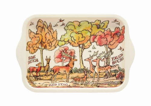 Emma Bridgewater In the woods small melamine tray - Daisy Park