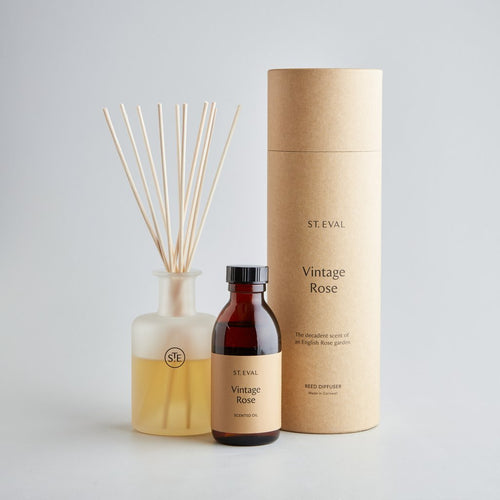 St Eval Vintage Rose reed diffuser - Daisy Park