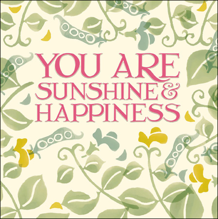 Emma Bridgewater You are sunshine card - Daisy Park