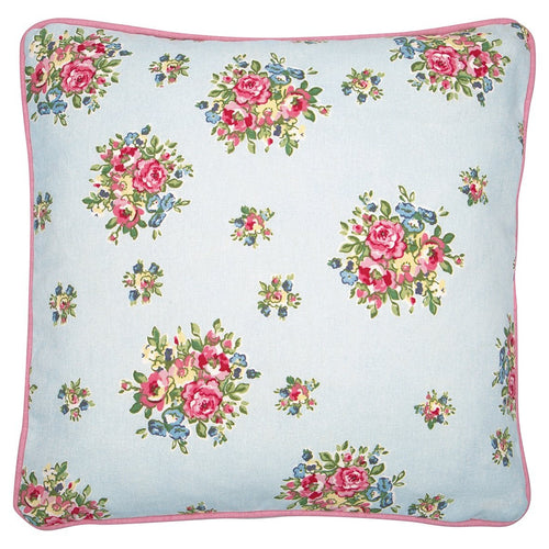 Greengate Franka pale blue cushion