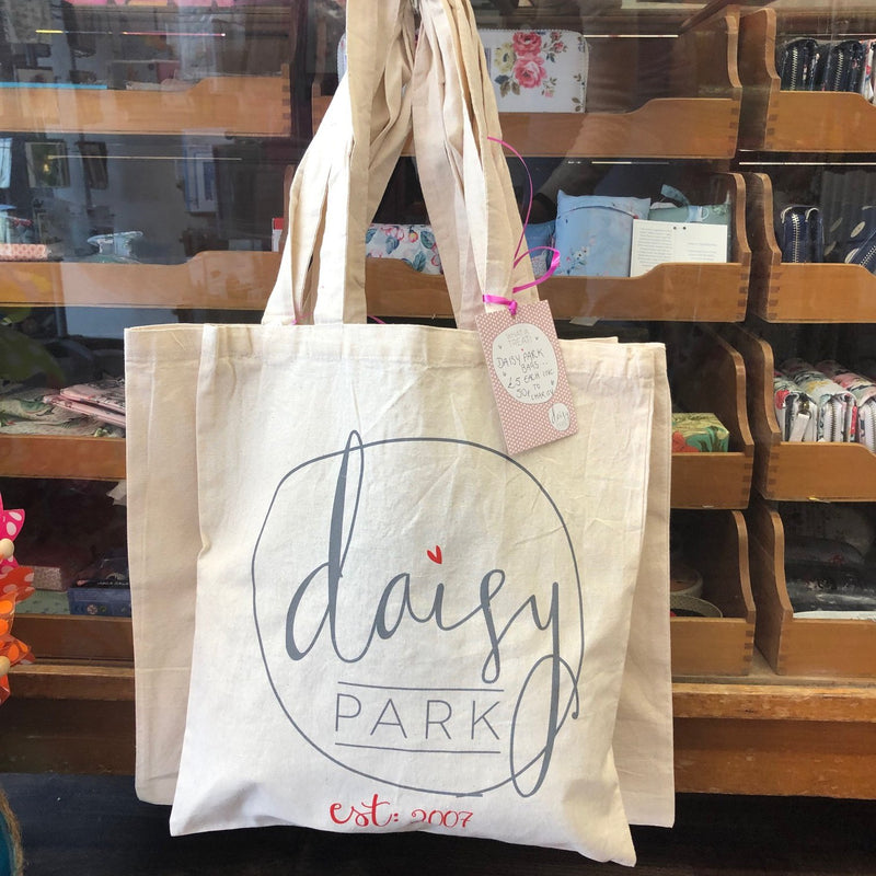 Daisy Park Canvas Tote Bag - Daisy Park