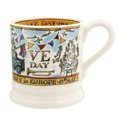 Emma Bridgewater VE Day 75th Anniversary 1/2pt mug - Daisy Park