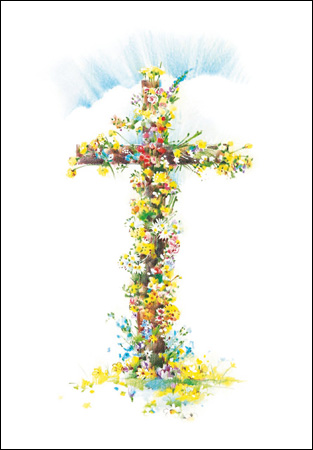Easter Cross card - Daisy Park