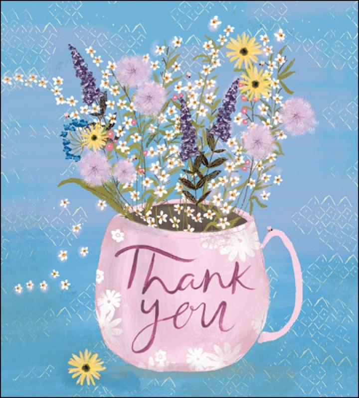 Freshly Picked Thank you card - Daisy Park