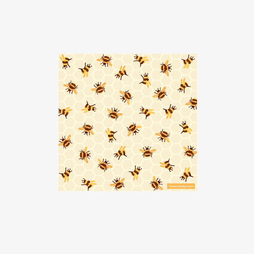 Emma Bridgewater Bumble Bee cocktail napkins - Daisy Park