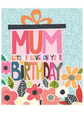 Mum Lots of Love on your Birthday card - Daisy Park