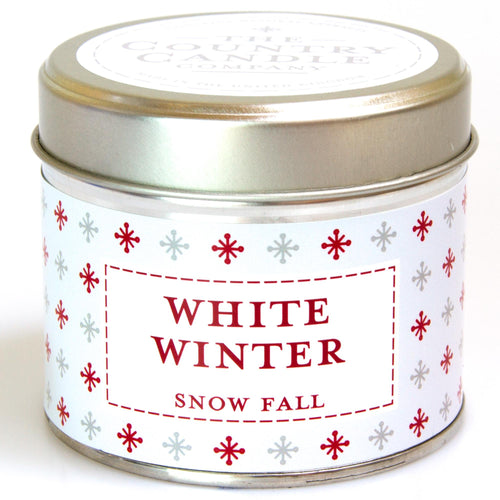 Winter White Noel - Vanilla Spiced Orange Tin Candle
