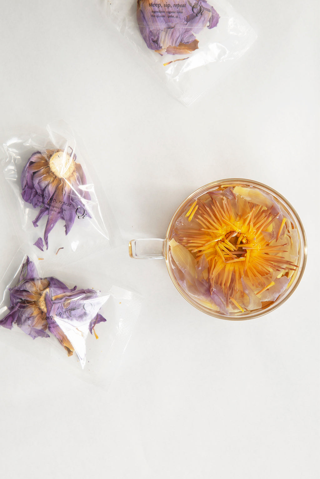 The Qi Floral Tea: Blue Lotus