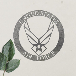Air Force Honor Metal Wall Art