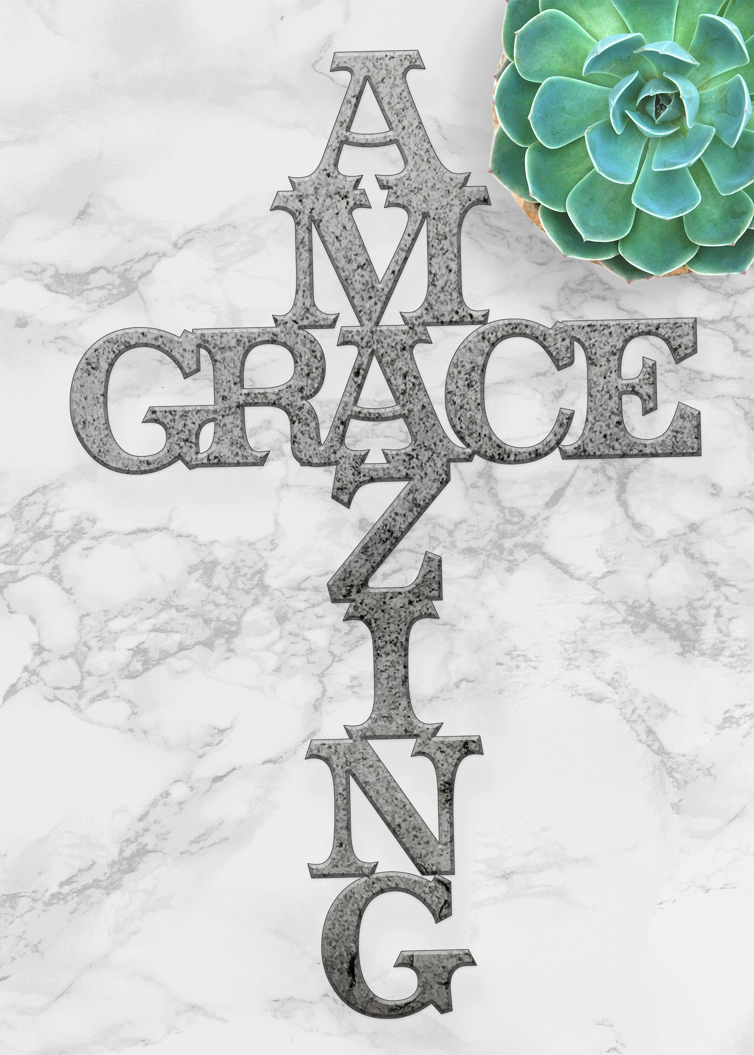 Amazing Grace Metal Wall Art