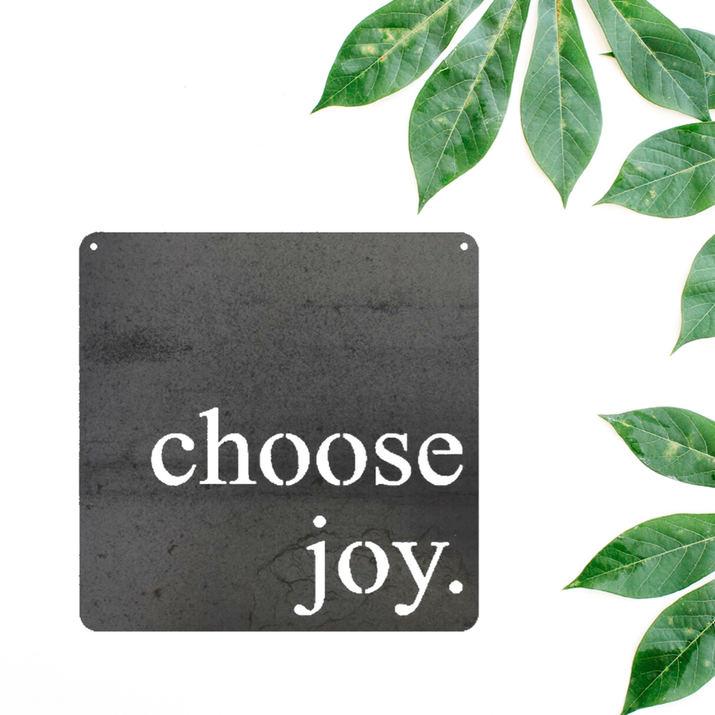 Choose Joy In Metal