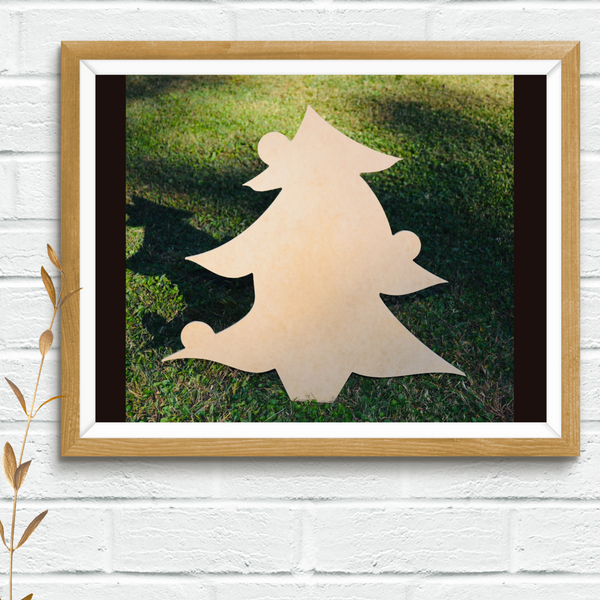 Wood Shape- Christmas Tree
