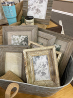 Picture Frames- Wooden-Distressed-Painted