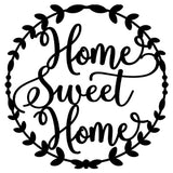 Home Sweet Home Wreath